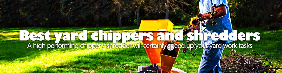 Best wood chipper shredder for your garden