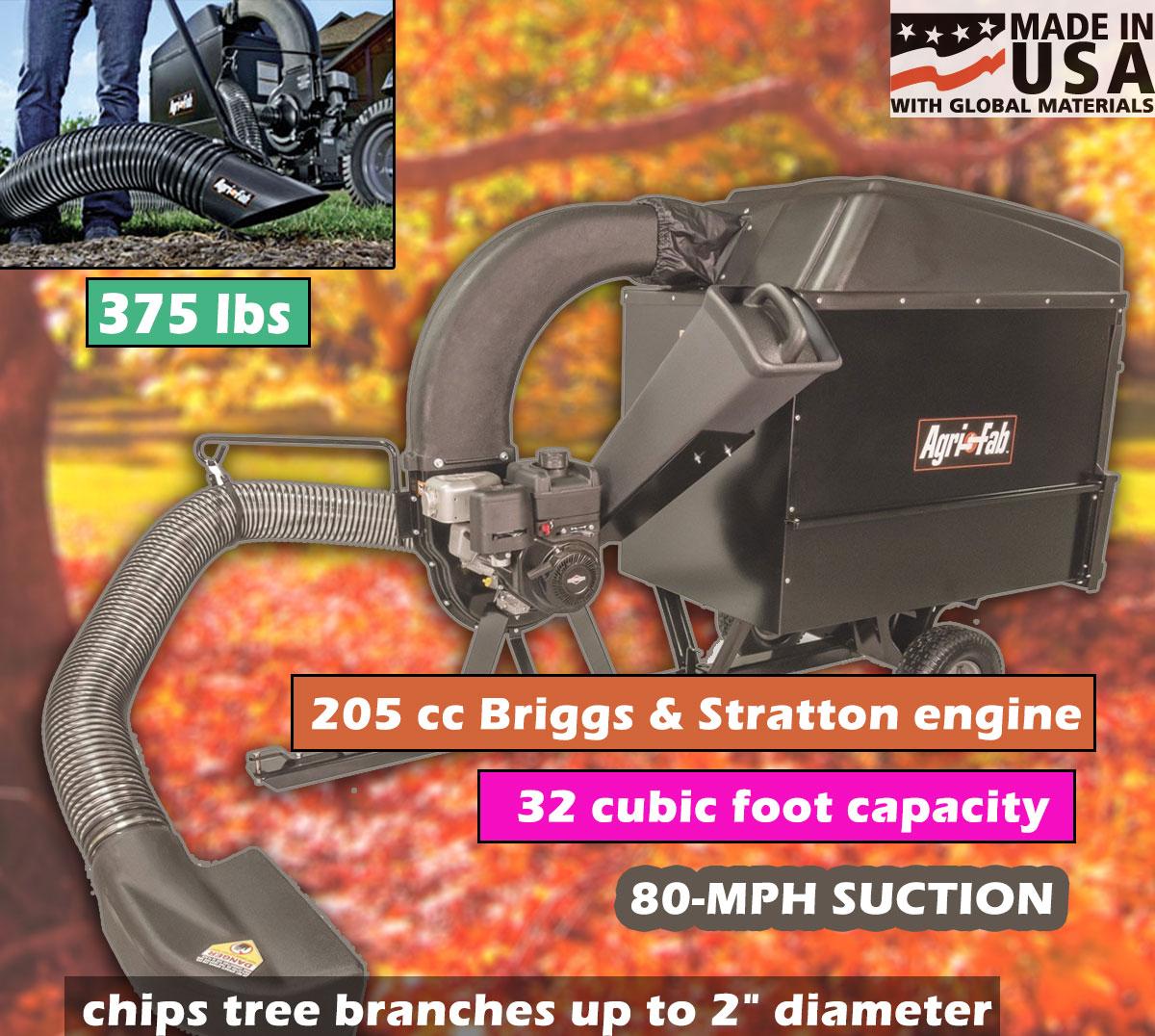 Agri-Fab 55249 Chip N Vac